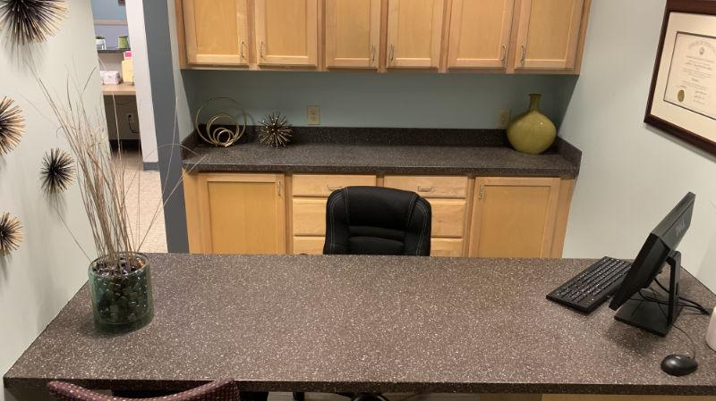 First Impressions Dental Patient Consultation Desk