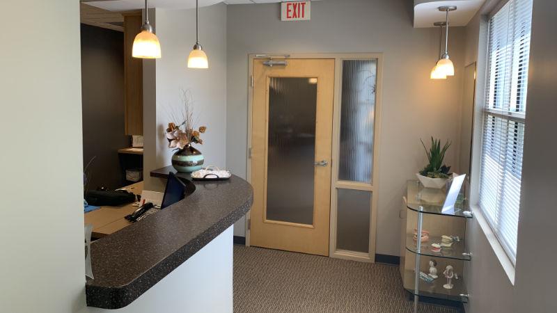 First Impressions Dental Checkout Hallway