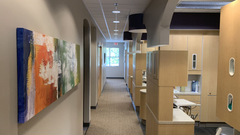First Impressions Dental Patient Operatory Hallway